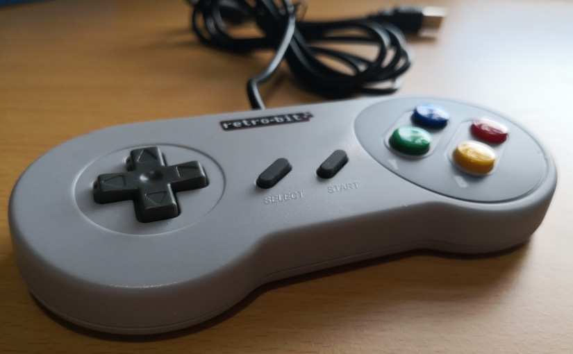 Review: USB SNES Gamepad from retro-bit